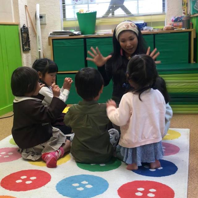 【体験】Seedling English school(新年少~年長)